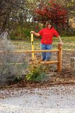 Landscaper Woman Stock Photography