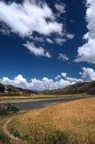 landscapes Тибет Стоковая Фотография RF