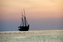Landscapes of the Adaman sea Stock Image