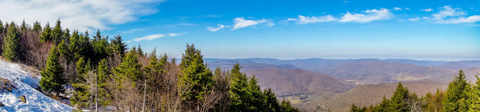 Landscapes around town of snowshoe west virginia. Landscapes around town of snowshoe west  virginia Stock Image
