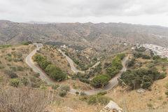 Landscapes axarquia Malaga Royalty Free Stock Image