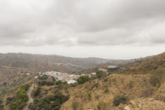 Landscapes axarquia Malaga Royalty Free Stock Photography