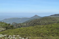 Landscapes in the Bale Mountains of Ethiopia stock photography