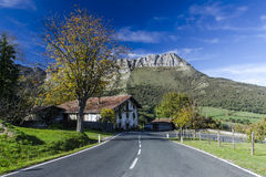 landscapes of the Basque Country Stock Photo