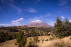 Landscapes in the beauty volcanos of Mexico Stock Photo