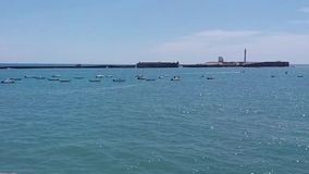 Landscapes of Cadiz, a beautiful place. stock footage