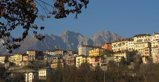 Landscapes of the city of Belluno Stock Images