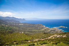 Landscapes of Corsica Royalty Free Stock Images