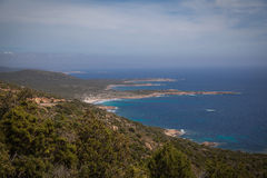 Landscapes of Corsica Royalty Free Stock Photography