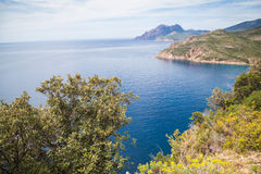 Landscapes of Corsica Stock Images