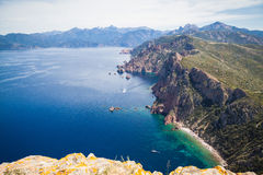 Landscapes of Corsica Royalty Free Stock Photos