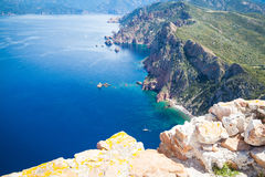 Landscapes of Corsica Royalty Free Stock Image