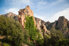 Landscapes of Corsica Royalty Free Stock Photo