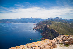 Landscapes of Corsica Stock Photography