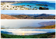 Landscapes from Crete Island, Greece Stock Photography