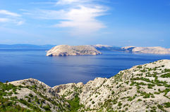 Landscapes in Croatia Royalty Free Stock Photos