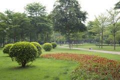 Landscapes design in Ersha Island Park Guangzhou. Outdoor landscapes design in city Guangzhou Ersha Island park ,Guangdong province China Asia Stock Photo