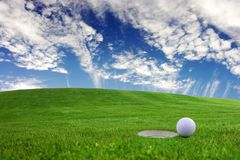 Landscapes - golf Royalty Free Stock Images