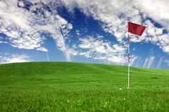 Landscapes - golf Royalty Free Stock Photography
