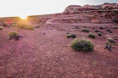 Landscapes at grand canyon Royalty Free Stock Photos
