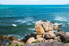 Landscapes on Hon chong cape in Nha Trang, Vietnam Royalty Free Stock Images