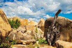 Landscapes on Hon Do island in the sea near Nha Trang city, Vietnam Stock Photography