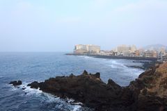 Landscapes in Jeju Island Stock Photo