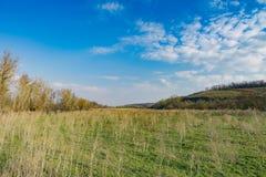 Landscapes of Khortitsky district. Ukraine Stock Photo
