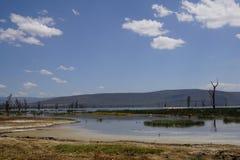 Landscapes of Lake Nakuru. Scenic landscapes of Lake Nakuru, Lake Nakuru National Park, Kenya Stock Photos