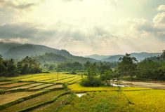 Landscapes in Laos Royalty Free Stock Images