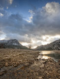 Landscapes of Mallorca. Winter Landscape of the island of Mallorca in Spain Stock Images