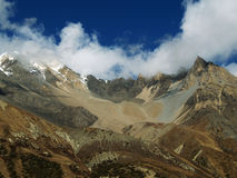 Landscapes in Manang Stock Photo