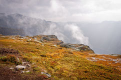 Landscapes in mountains. Norway Royalty Free Stock Photos