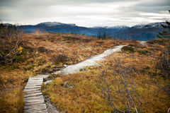 Landscapes in mountains, Norway Stock Image