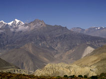 Landscapes in Mustang Stock Photo