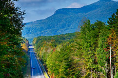 Landscapes near lake jocassee and table rock mountain south caro Stock Images
