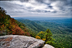Landscapes near lake jocassee and table rock mountain south caro. Landscapes near lake jocassee and table  rock mountain south carolina Stock Photography