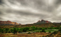 Landscapes near Zion Royalty Free Stock Images