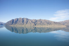 The landscapes of New Zealand. The landscapes of south island of New Zealand Royalty Free Stock Image