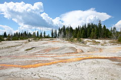 Landscapes Of Yellow Stone National Park Stock Photography