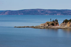 Landscapes off the Bay of Fundy Royalty Free Stock Image