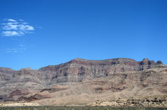 Landscapes on Pierce Ferry Road, Meadview. Grand Canyon National park, Arizona Stock Image