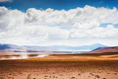 Landscapes of the plateau Altiplano, Bolivia Stock Images