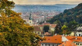 Landscapes of Prague. The landscapes of Prague. Background Royalty Free Stock Image