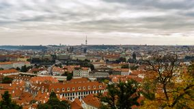Landscapes of Prague. The landscapes of Prague. Background Stock Photos