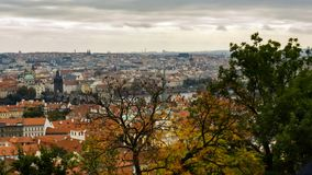 Landscapes of Prague. The landscapes of Prague. Background Stock Photo