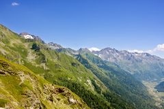 Landscapes of Pyrenees (France) Royalty Free Stock Image