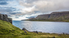 Landscapes on the road along the Strandir Coast, West Fjords, Ic Stock Photos