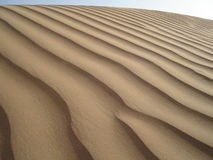 Landscapes of sand Royalty Free Stock Photo