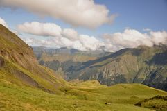 Lost Somewhere in the Mountain. Landscapes seen during hiking in pyrenees Stock Photo